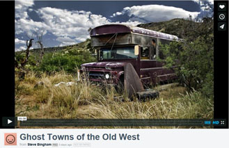 Ghost towns of the Old West - America
